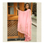Light Pink Saree by ThaanIndia in Amt